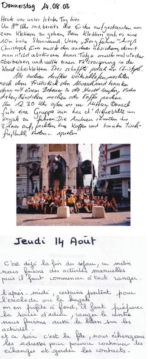 dtsch-frz Jugendbewegung 2003